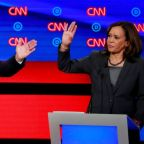 Biden says he would consider Harris for vice presidential slot