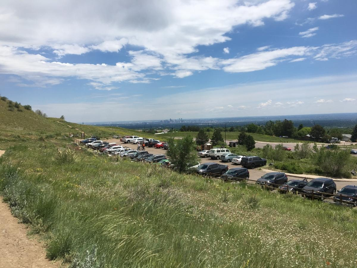 People have been flocking to Colorado parks in record numbers amid the coronavirus outbreak, but not all drivers have been adhering to parking lot overflow guidelines.