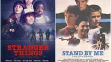 Los carteles cinéfilos de 'Stranger Things'
