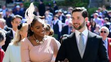 Serena Williams wears trainers to royal wedding