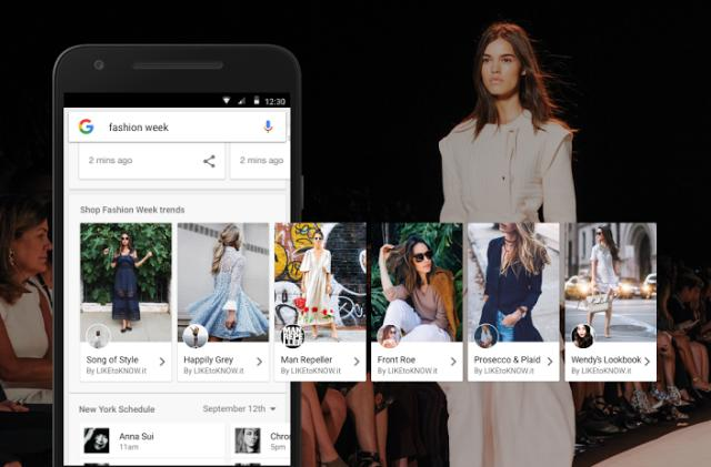 'Inspirational' fashion ads sell exactly the look you're Googling