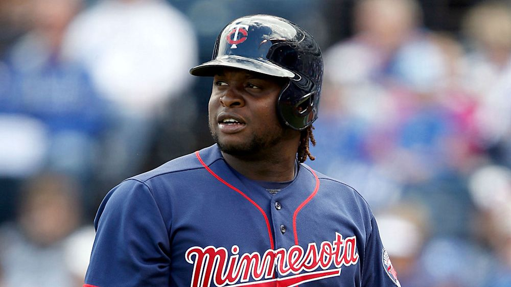 The Twins will be without slugger Miguel Sano for Tuesday's AL wild-card game. (AP)