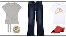 How to Wear Kick Flare Jeans Now and Into the Fall
