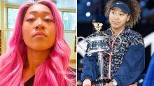 Naomi Osaka shows off dramatic new look after Australian Open