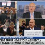 "Clinton Foe Ken Starr Tells Fox News ""Bombshell Day"" Will Bring Trump Impeachment"
