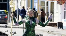 Superheroes Spotted On Set ... Looking Not-So-Superheroic