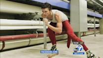 Speed skater aims to be 1st openly gay Winter Olympian