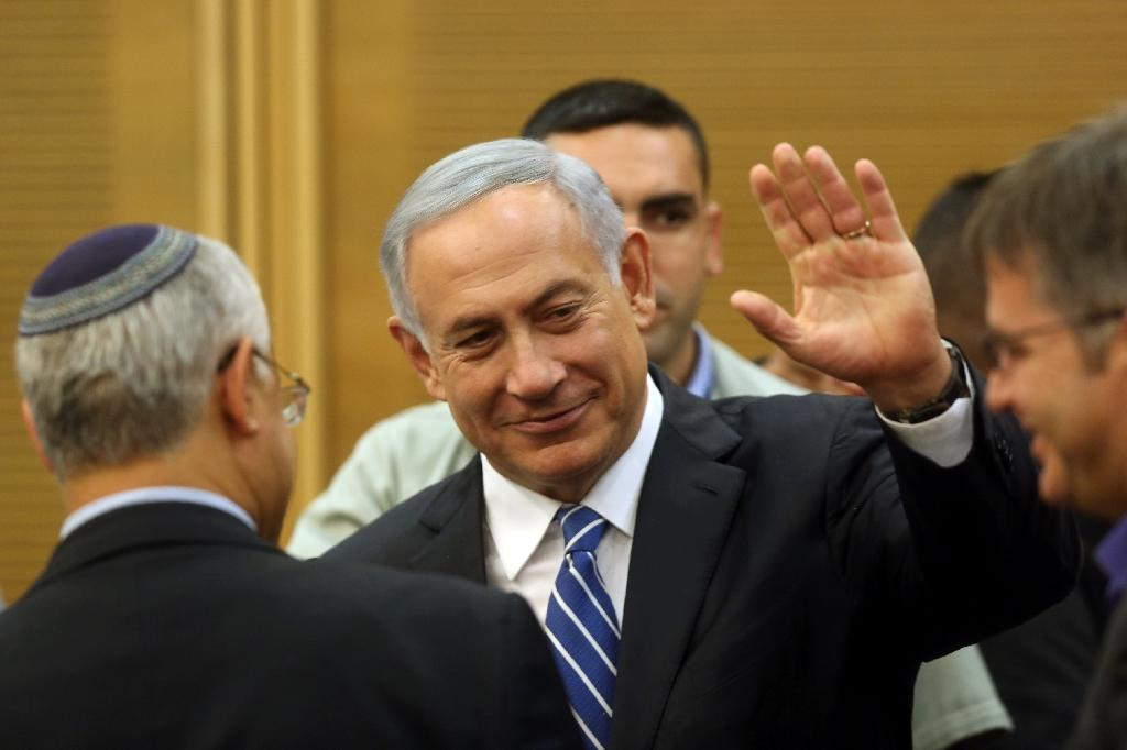 Israeli Prime Minister Benjamin Netanyahu will be making his third to Russia since September, this one coming as the two nations mark 25 years since the reestablishment of diplomatic relations (AFP Photo/Menahem Kahana)
