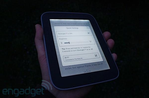 How would you change the Nook Simple Touch with Glowlight?