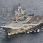 One dead, two missing as Russia's only aircraft carrier catches fire