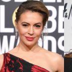 Alyssa Milano Calls Red MAGA Hats 'The New White Hood' and Sarah Palin Responds