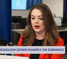 Broadcom Down Sharply On Earnings