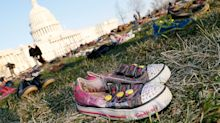 7,000 pairs of shoes honor memory of children lost to gun violence