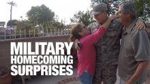 Servicepeople Make Emotional Returns Home