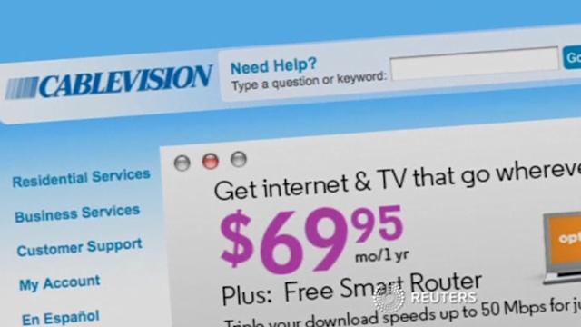 Cablevision loses broadband clients