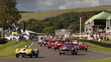What's it like to race a multi-million pound Ferrari at Goodwood?