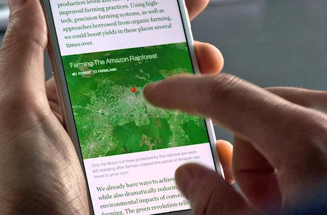 Facebook's Instant Articles will draw from more news outlets