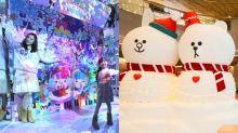 【聖誕節2019】19位卡通人物陪你過聖誕!白雪雪BROWN伴你野外遊蹤、走進LITTLE TWIN STARS的光影樹屋