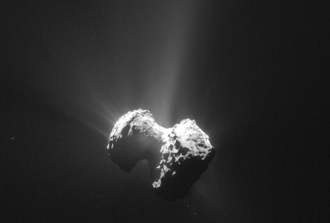 AP Photo/ESA/Rosetta/Navcam