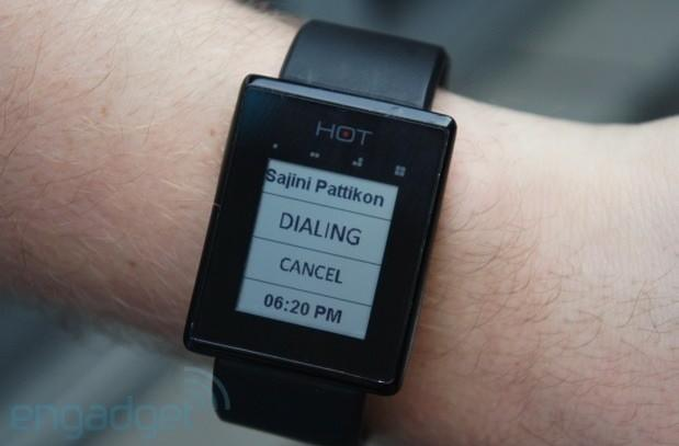 The Hot Watch is a smartwatch that makes calls, we go hands-on