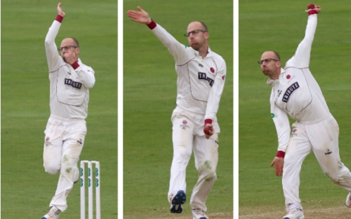 Leach was the leading English-qualified spin bowler in county cricket last season with 65 wickets at 21 runs - Getty Images
