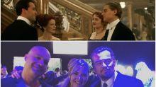 Las estrellas de 'Titanic' se reencuentran por una buena causa