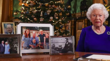 Fans Accuse Queen Elizabeth of Snubbing the Sussexes' Christmas Photo During Her Speech