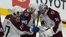 Rantanen scores twice as Avalanche blank Sharks 4-0