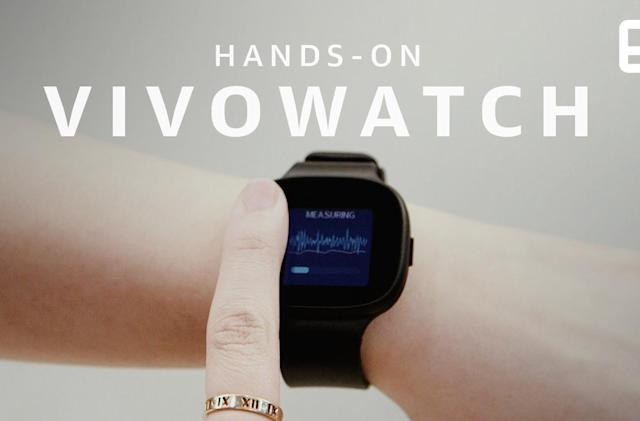 ASUS VivoWatch BP keeps track of your location and blood pressure