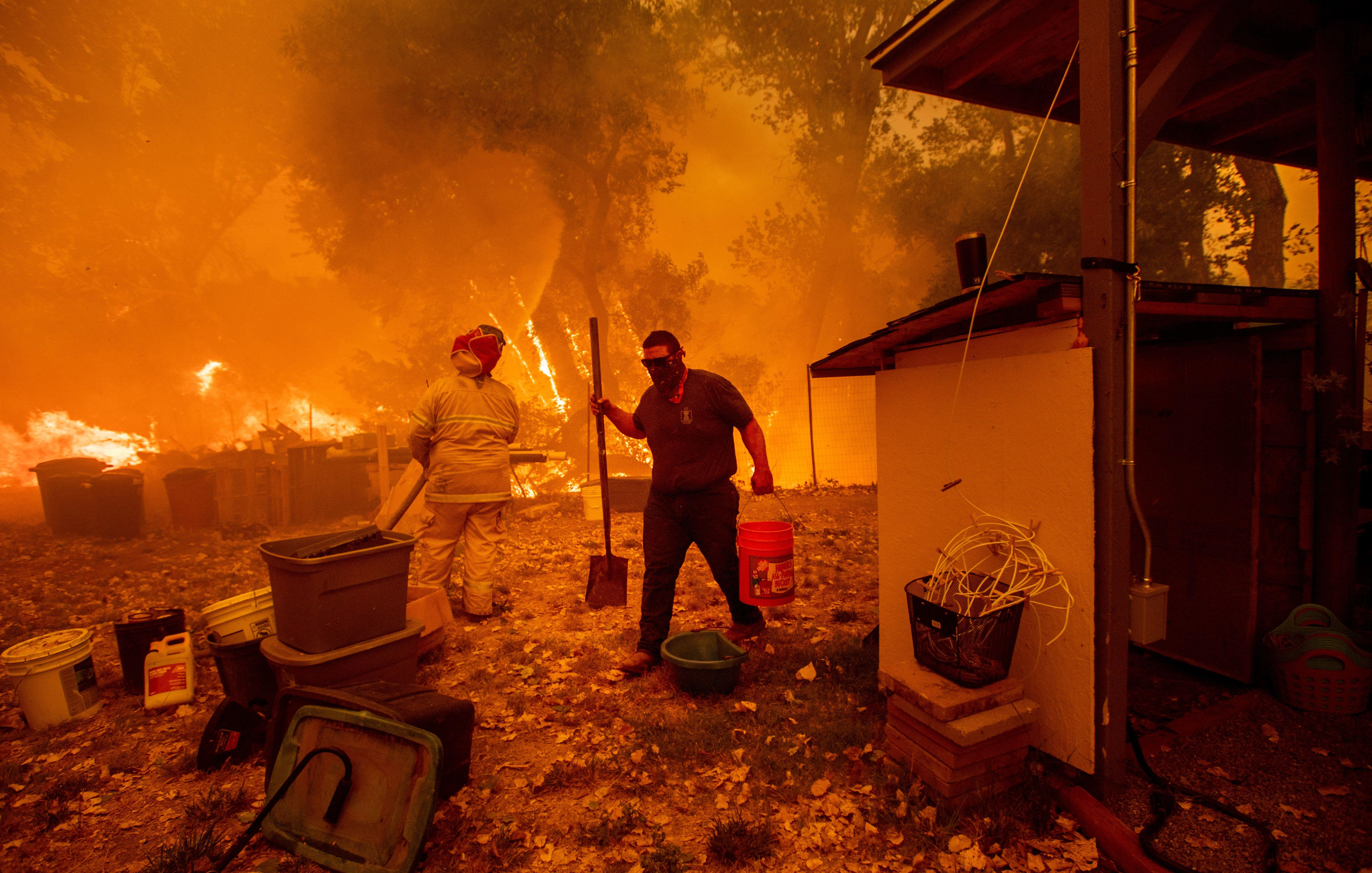 Deadly wildfires in Northern California