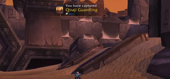 Qiraji Guardling pet now appearing on all realms