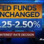 Fed leaves interest rates unchanged, signals no increases...