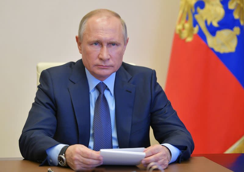 Trump urges China, Russia arms control in telephonic call with Putin