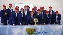 Golf-Presidents Cup format and rosters
