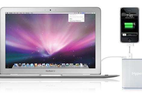 HyperMac external battery powers MacBooks for 32 hours