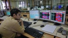 Sensex, Nifty falls more than 1 percent; rupee slumps
