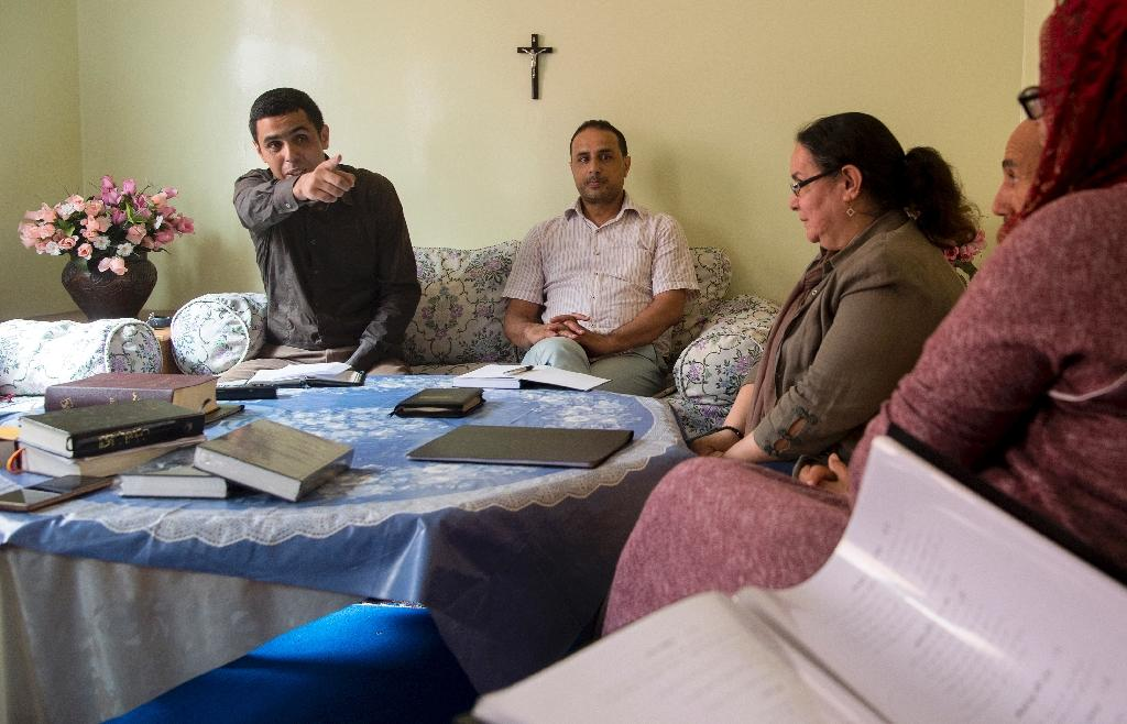 In Morocco proselytising is punishable by law and anyone found guilty of 'attempting to undermine the faith of a Muslim or convert him to another religion' can be jailed for up to three years (AFP Photo/FADEL SENNA)