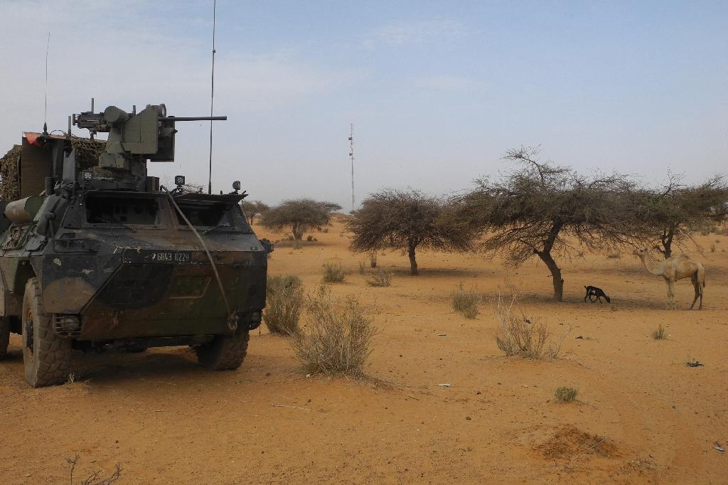 France says a new advance base near Gossi will give it greater mobility in the fight against jihadists in central Mali (AFP Photo/Daphné BENOIT)