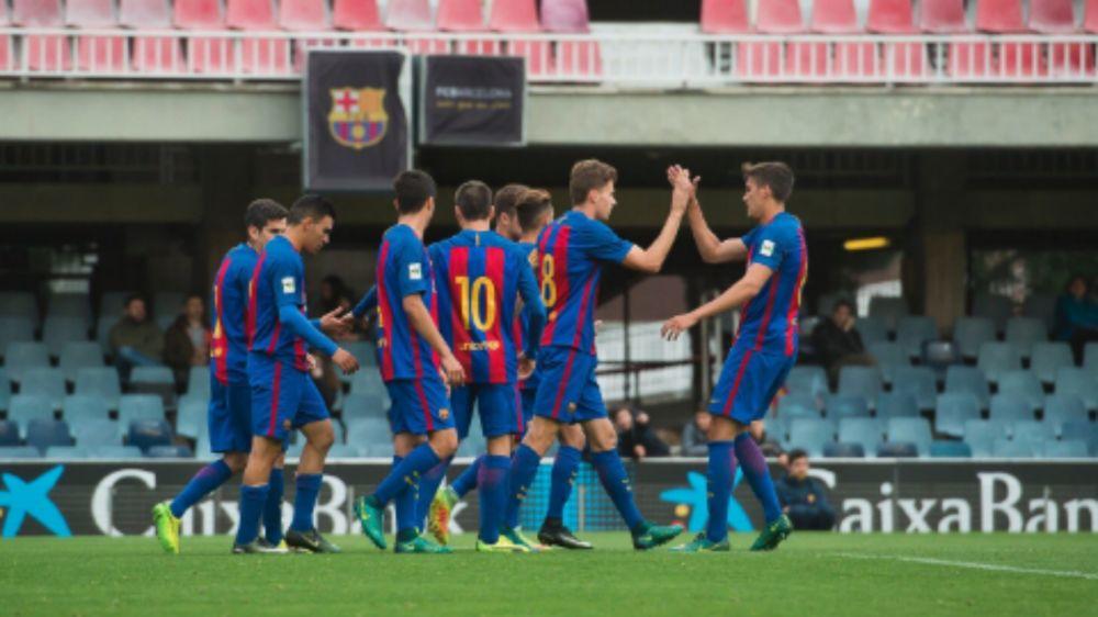 Un ascenso que deja sin palabras al filial del Barcelona