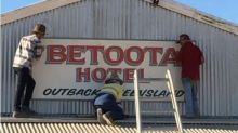 Australian pub reopens in isolated ghost town, population zero