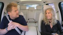 Barbra Streisand opens up about stage fright during 'Carpool Karaoke'