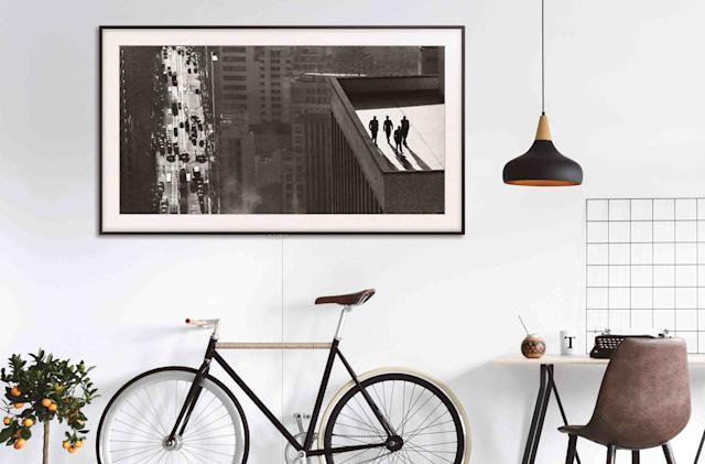 Samsung updates its stylish Frame TVs with more features and artwork