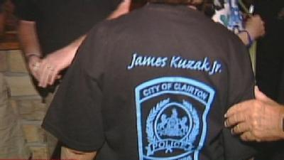 Fundraiser Held For Wounded Clairton Police Officer