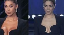 Belen Rodriguez conquista tutti con il minidress Versace: la foto
