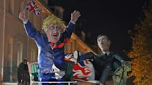 In pictures: Brexit takes centre stage as thousands turn out for Bonfire Night celebrations
