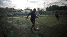 Human foosball: New form of soccer developed for pandemic