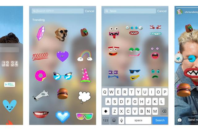 Instagram restores Giphy stickers now that racist GIFs are gone