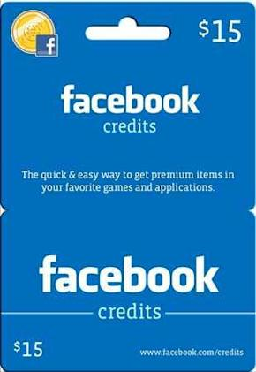 Facebook Credits coming to Walmart and Best Buy