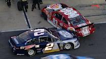 Early pit road trouble for Keselowski