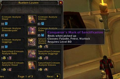 Patch 3.3 PTR: The new tier 10 purchasing model